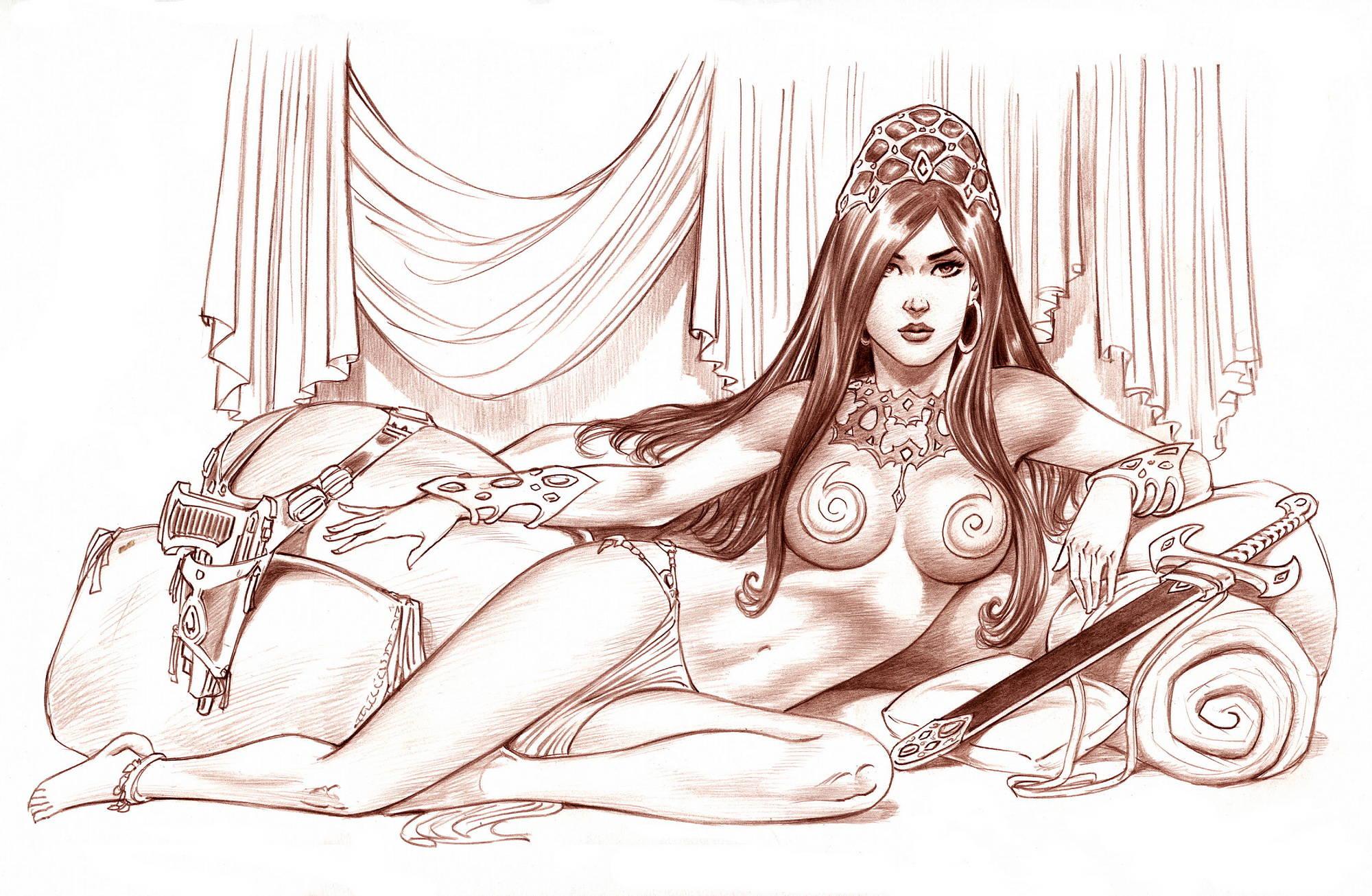 Drawings nude warhammer princesses nude pics