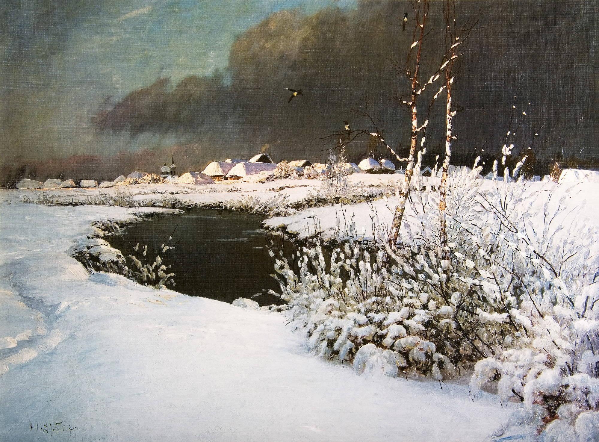 В начале зимы 1895 г дубовской николай