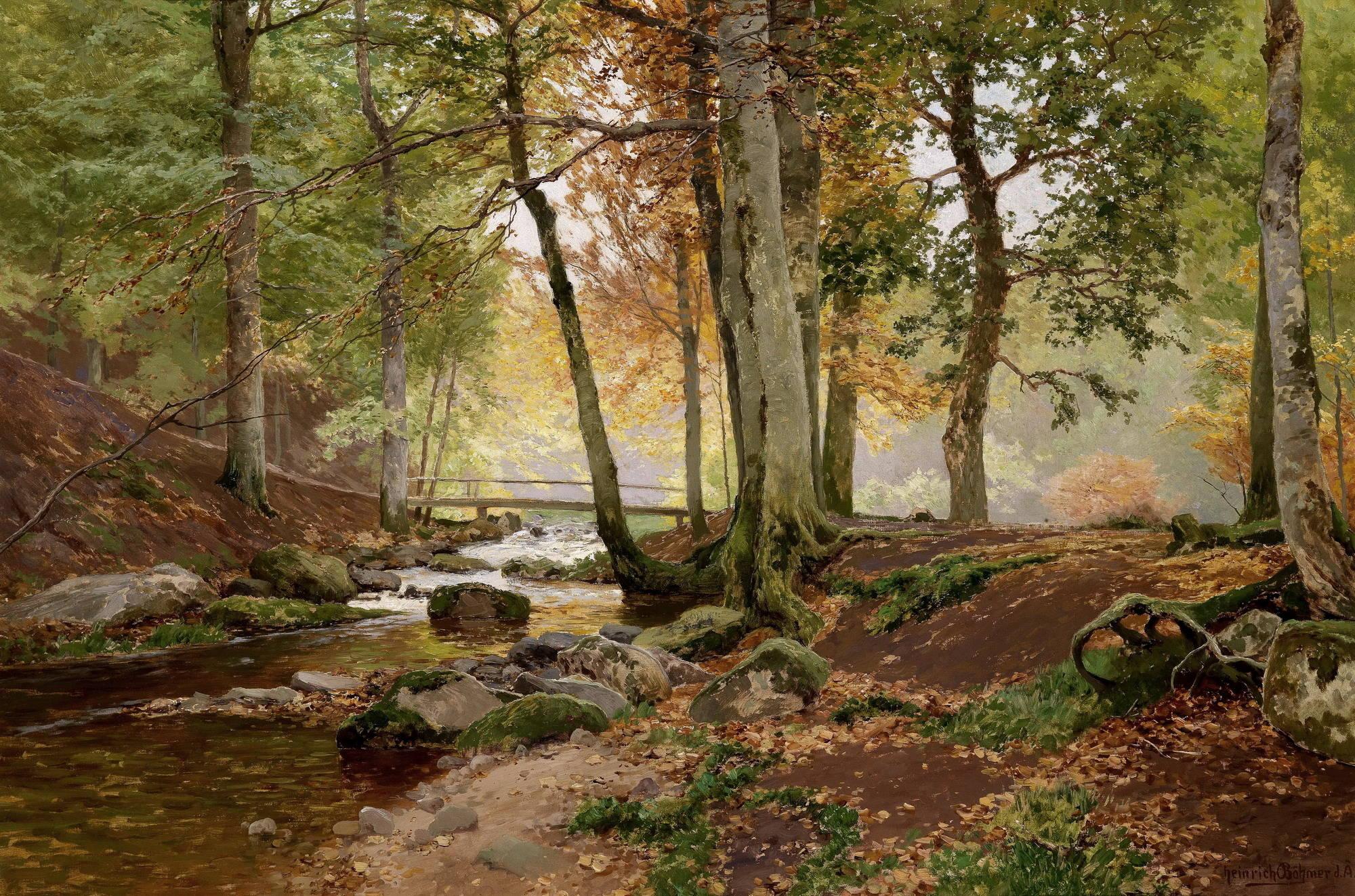 Мещерский мостик через речку стихи