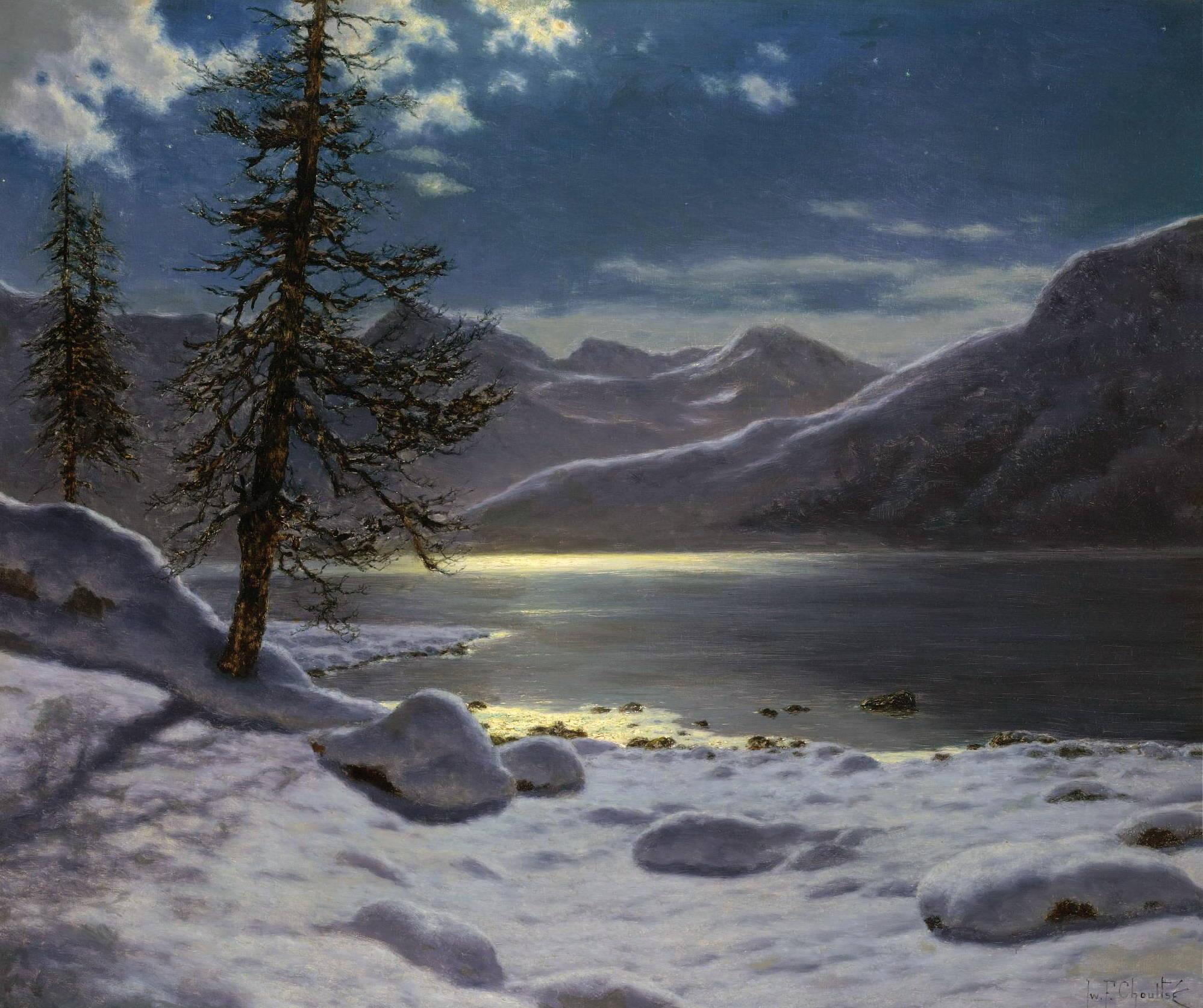 Фото пейзажей при лунном свете 6