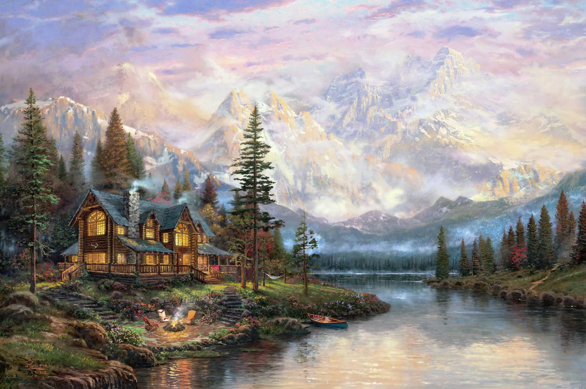 Центральный административный самые красивые картины маслом пейзажи женщины-Девы