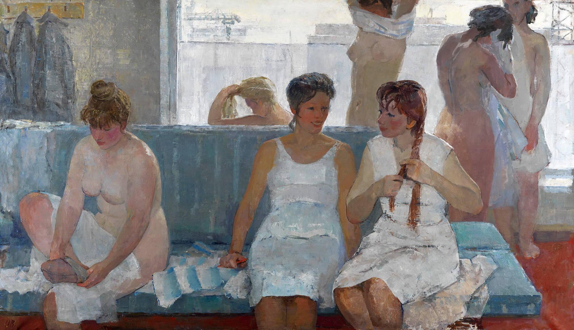Эротика в советском искусстве 18 фотография