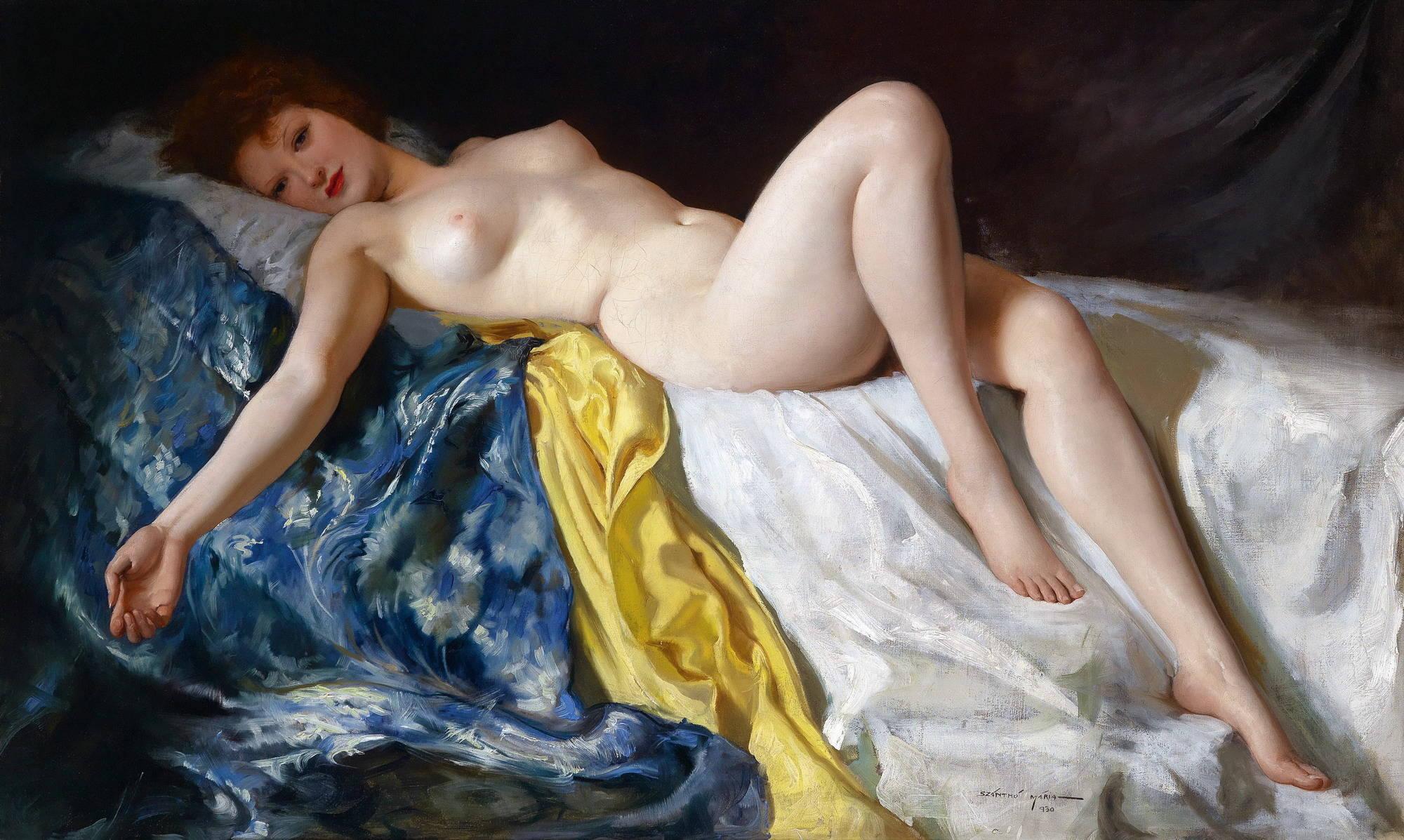 Художник рисует голую девушку 18 фотография