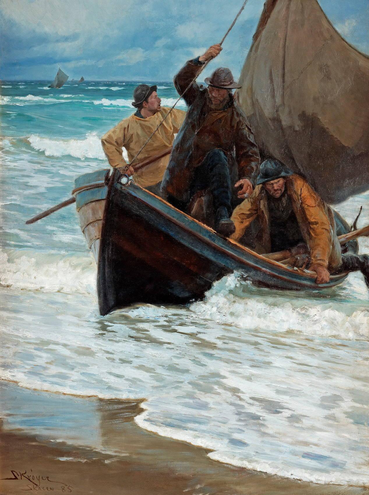 венецианские рыбаки