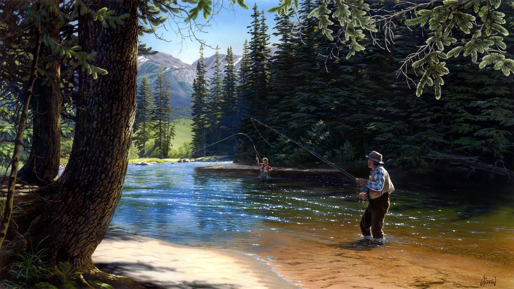 леса это в рыбалке
