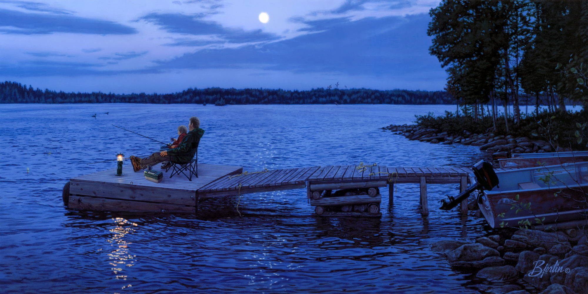 лодка река рыбалка фото