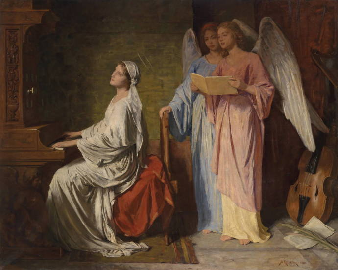 an introduction to the mythology of saint cecilia Community and parish activities religious education the first day we do it in the church with an introduction to the devotion and a video st cecilia society.