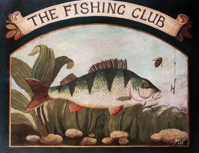 картинки для декупажа с рыбаками