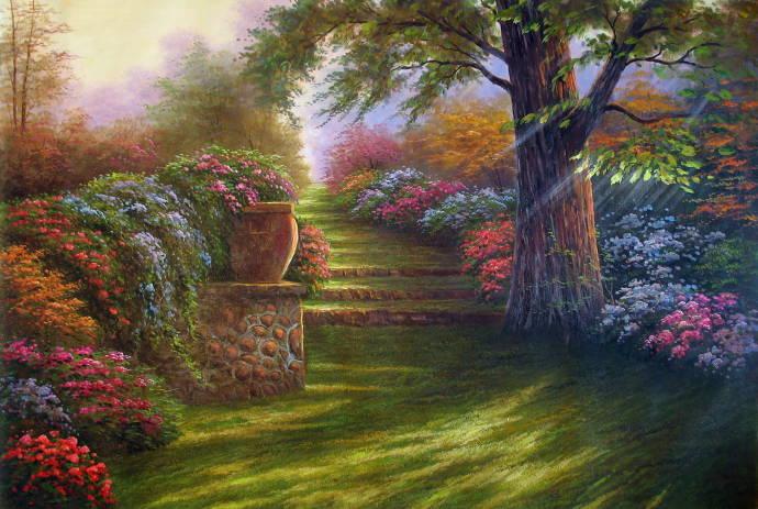 На пол пути к раю / Томас Кинкэйд - Thomas Kinkade