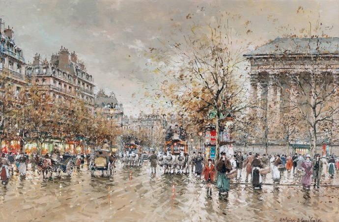парижская осень 9